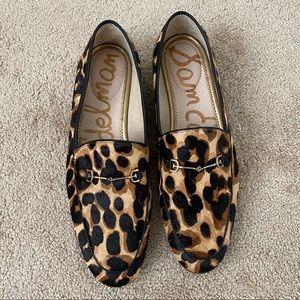 SAM EDELMAN Leopard Print Loafer